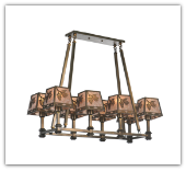 Balsam Pine 8 light Country Chandelier