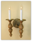 Early American Sconce-Double