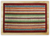 Wicker Weave Bright Stripe