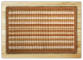 Wicker Weave Neutral Stripe