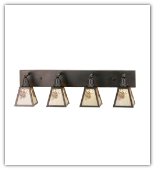 Winter Pine 4 Light Vanity Sconce